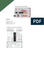 Montaje Conversor Análogo Digital ADC0804
