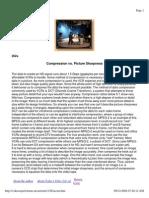 compression vs picture sharpness