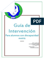 Guia Intervencion Educativa Alumnos Discapacidad Motriz