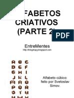 ALFABETOS CRIATIVOS - PARTE 2