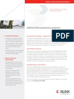 Ml605 Product Brief