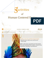8 activities of human centered design (HCD)