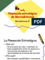 Merca II Capitulo 1 PLANEACIÓN ESTRATÉGICA