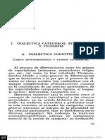 DIALECTICA CATEGORIAL ECONOMICA