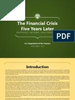 Www.treasury.gov Connect Blog Documents FinancialCrisis5Yr vFINAL