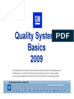 QSB TOOLS -GM Quality System Basics Overview