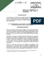 Ley Comida Chatarra - Proyecto