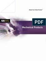 ANSYS Mechanical Products