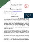 ws august 2013 newsletter