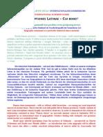 INSCRIPTIONES LATINAE – CUI BONO Ljetni tecaj 2012