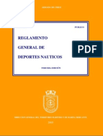 Reglamento General de Deportes Nauticos