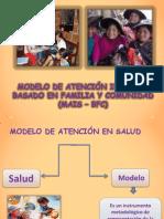 MODELO DE ATENCIÓN INTEGRAL BASADO EN FAMILIA Y comunidad