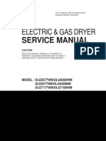 repair manual for LG Brand Dryer