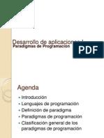 Desarrollo de Aplicaciones I