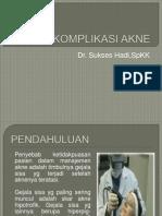 Komplikasi Akne Edit