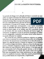 Eugenio Trías-Ética y condición humana