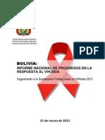 Informe UNGASS Bolivia 2012