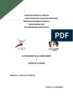 Trabajo Paradigma-Paxis Mayo 6, 2013