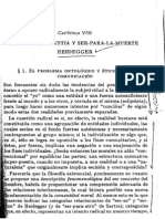 Libertad-Angustia y Ser Para La Muerte-Heidegger