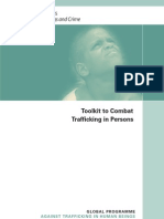 Toolkit to Combat Trafficking in Persons