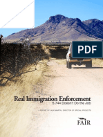 Real Immigration Enforcement and How S.744 Doesn't Do the Job