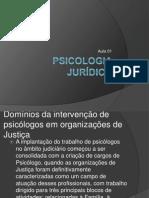 Aula 01 - Psicologia Jurídica