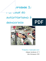 TG Tema2 Portugal Do Autoritarismo a democracia