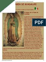 La Ciencia Ante El Misterio de La Virgen de Guadalupe