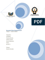 Informe Encuesta Clima Organizacional