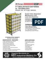 CELLYTE 2TLGM Tubular Rack Brochure