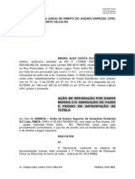 AÇÃO INDENIZAÇAO DANOS MORAIS OBRIGAÇÃO DE FAZER TUTELA ANTECIPADA. BRUNO ALEX DA COSTA. FIMCA. JUIZADO ESPECIAL