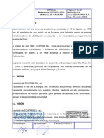 Manual de Calidad Ecuatran