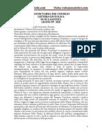 INSCRUTABILI DEI CONSILIO LETTERA ENCICLICA DI SUA SANTITÀ LEONE PP. XIII