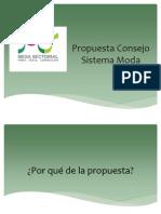 Propuesta Consejo Moda 2012
