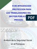 INTEGRACIÓN DE LOS SEGUROS SOCIALES TRABAJADORES PUBLICOS Y PRIVADOS