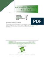 Auto Dishwash Rinse Aid - 231