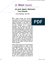 Britain and Japan, Between Two Islands - Terry Boardman 1996