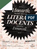 Wordfest Guide 2013