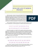 teorema de números primos