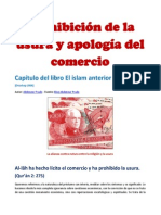 Prohibición de la usura y apología del comercio- Autor
