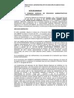 ACTA-DRE (C.P.P 4