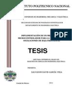 TESIS- Implementacion de Un Medidor Con Micro Para Deteccion de Oscilaciones