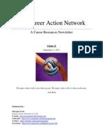 Career Action Network September 11th - Vol 31