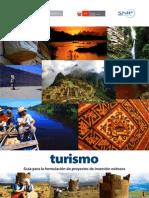 Guia Proyectos en Turismo Mef Mincetur