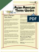 asian-american theme garden (w037)