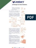 Manual de Montagem Da Antena de Tela Century