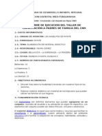 Modelo de Informe Cnh