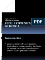 0 Redes y Comunicaciones de Datos I - Comunicaciones