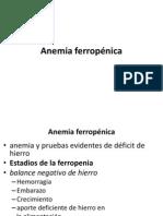 b. ANEMIA Ferropenica