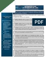 Décimo Boletin Informativo UIF